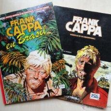Cómics: SE VENDEN EN CONJUNTO. 2 AVENTURAS DE FRANK CAPPA. Lote 40993277