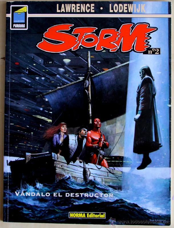 STORM NUM. 2. VÁNDALO EL DESTRUCTOR . NORMA EDITORIAL (Tebeos y Comics - Norma - Comic Europeo)