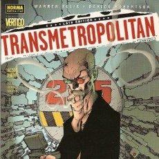 Cómics: TRANSMETROPOLITAN ¡ACOSO Y DERRIBO!. Lote 41168740
