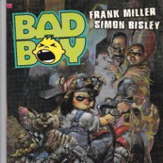 Cómics: BAD BOY. NORMA EDITORIAL. SIMON BISLEY - FRANK MILLER. Lote 41238138