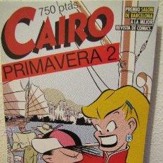 Cómics: CAIRO.RETAPADO.Nº.25,26 Y 28.NORMA EDITORIAL.AÑOS 80.. Lote 35554324