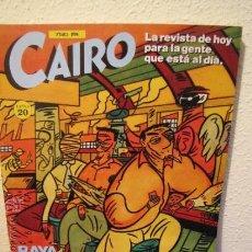 Cómics: CAIRO.RETAPADO.Nº.61, 62 Y 63.MORMA EDITORIAL.AÑOS 80.. Lote 35554501