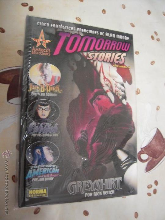 TOMORROW STORIEWS VOLUMEN 1 DE ALAN MOORE (Tebeos y Comics - Norma - Comic USA)