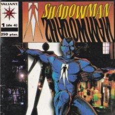 Cómics: SHADOWMAN. SERIE DE 4. COMPLETA. VALIANT. NORMA EDITORIAL. Lote 41480900
