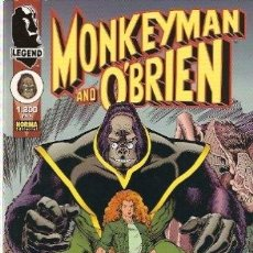 Cómics: MONKEYMAN Y O`BRIEN: ARTHUR ADAMS: NORMA. Lote 41562259