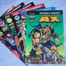 Cómics: EL HOMBRE LLAMADO AX - ( NORMA EDITORIAL ) - NºS 1 AL 6 COMPLETA - ( WOLFMAN & MCMANUS ). Lote 41638983