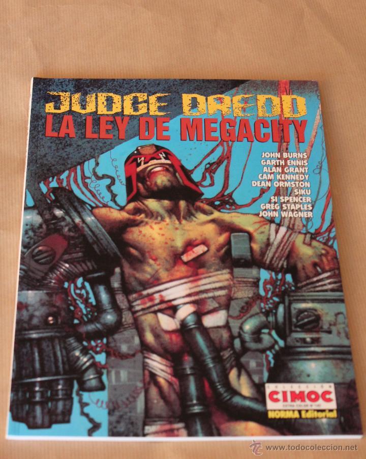 JUDGE DREDD – LA LEY DE MEGACITY – CIMOC EXTRA COLOR 142 NORMA 1997 – JUEZ (Tebeos y Comics - Norma - Cimoc)