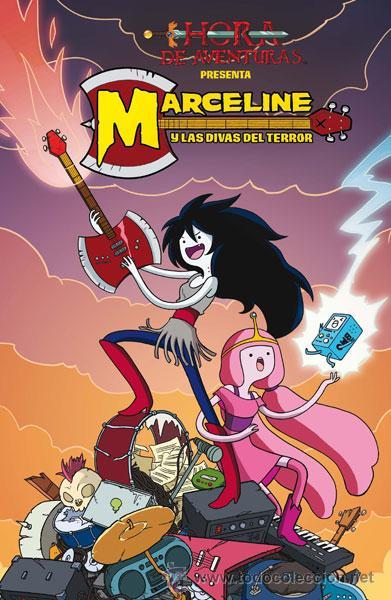 CÓMICS. HORA DE AVENTURAS PRESENTA: MARCELINE Y LAS DIVAS DEL TERROR - MEREDITH GRAN (Tebeos y Comics - Norma - Comic USA)