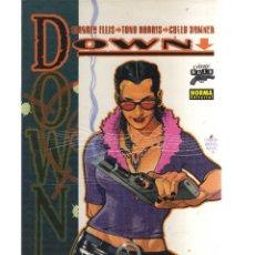 Cómics: DOWN ( ELLIS, HARRIS Y HAMNER ) - CJ35. Lote 41991044