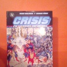 Cómics: CRISIS EN TIERRAS INFINITAS - TOMO PRESTIGIO - MARW WOLFMAN Y G. PEREZ - NORMA -MUY B. ESTADO CJ 4. Lote 42335448