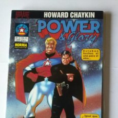 Cómics: POWER & GLORY -NORMA - COMIC BOOKS COL. DE 4 -COMPLETA - NUEVA. Lote 42393451
