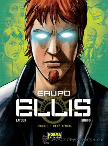 GRUPO ELLIS 1: DEEP O´NEIL (Tebeos y Comics - Norma - Comic Europeo)