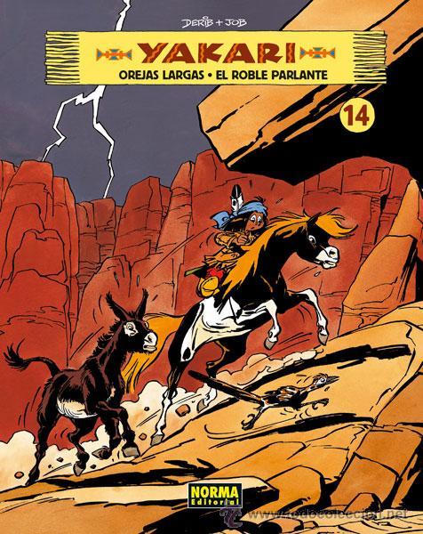 CÓMICS. YAKARI VOL. 14 - JOB/DERIB (CARTONÉ) (Tebeos y Comics - Norma - Comic Europeo)