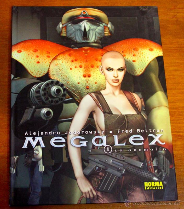 MEGALEX Nº 1 LA ANOMALÍA. DE JODOROWSKY Y BELTRAN (Tebeos y Comics - Norma - Comic Europeo)
