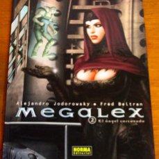 Cómics: MEGALEX - Nº 2 EL ANGEL CORCOVADO. DE JODOROWSKY Y BELTRAN. Lote 42613985