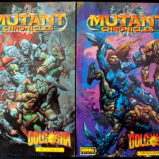 Cómics: MUTANT CHRONICLES. 1 Y 2. SERIE COMPLETA.. Lote 42756905