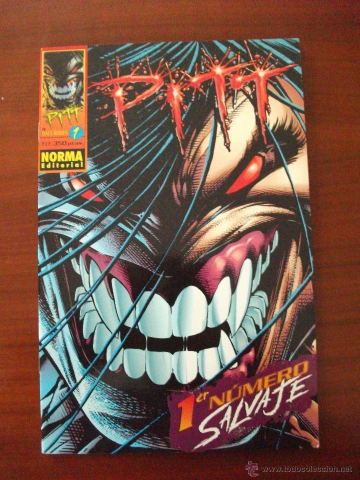 PITT Nº 1 NORMA EDITORIAL (Tebeos y Comics - Norma - Comic USA)