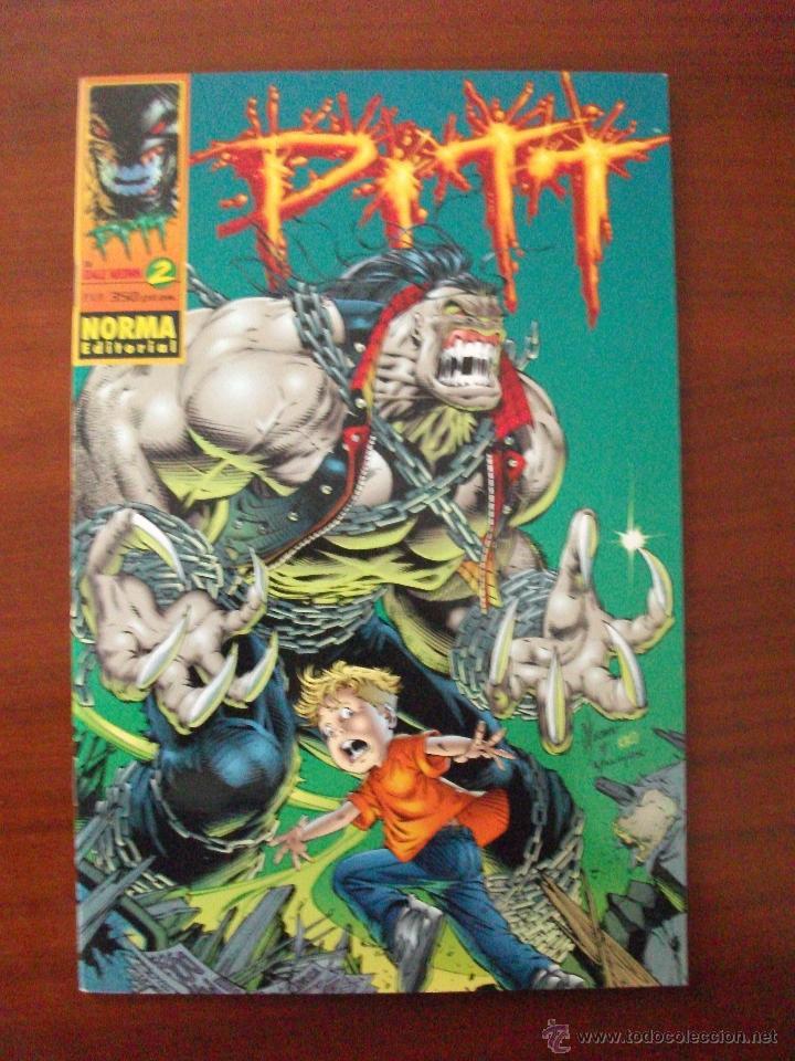 PITT Nº 2 NORMA EDITORIAL (Tebeos y Comics - Norma - Comic USA)