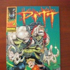 Cómics: PITT Nº 2 NORMA EDITORIAL. Lote 42813902