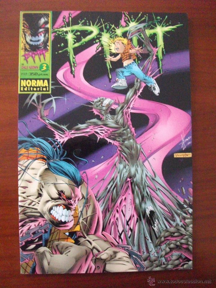 PITT Nº 3 NORMA EDITORIAL (Tebeos y Comics - Norma - Comic USA)
