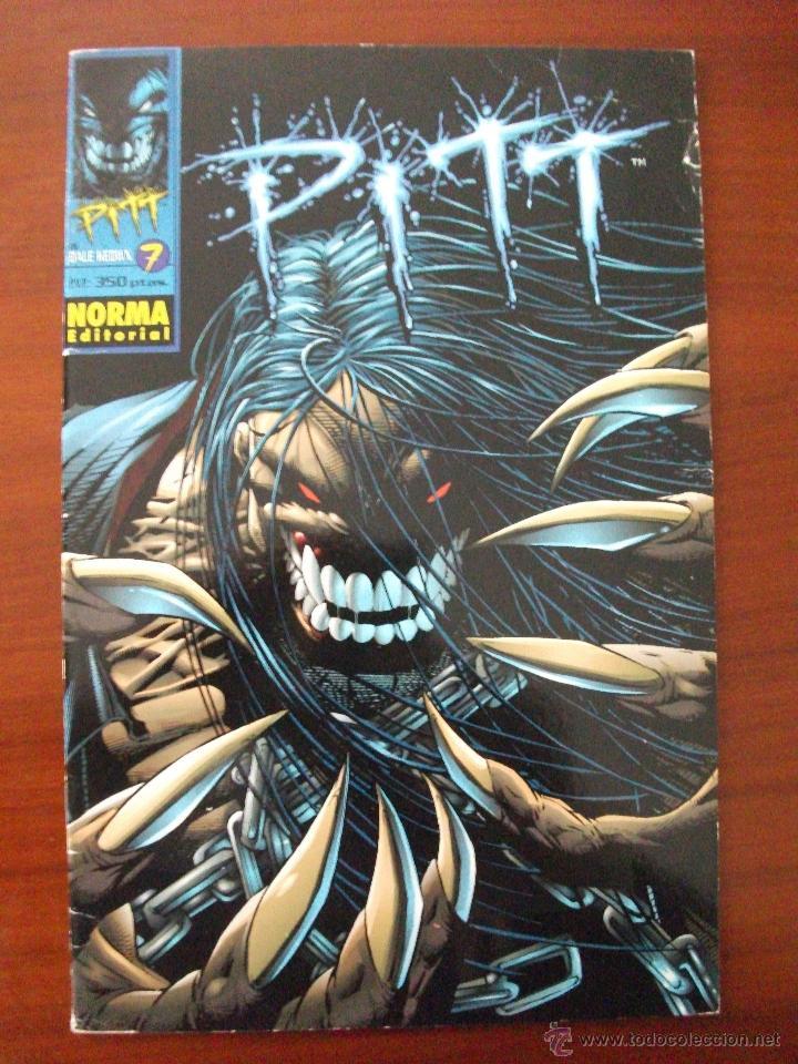 PITT Nº 7 NORMA EDITORIAL (Tebeos y Comics - Norma - Comic USA)