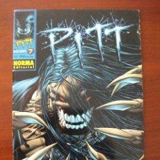 Cómics: PITT Nº 7 NORMA EDITORIAL. Lote 42813914