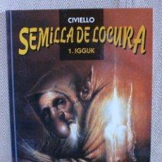 Cómics: LOTE DE LOS TRESPRIMEROS NUMEROS DE SEMILLA DE LOCURA - CIVIELLO - ED NORMA. Lote 42892875
