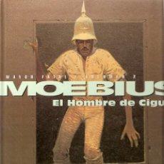 Cómics: MOEBIUS - MAYOR FATAL EL HOMBRE DE CIGURI - NORMA - TAPA DURA. Lote 42939536