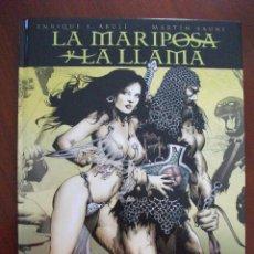 Cómics: LA MARIPOSA Y LA LLAMA NORMA EDITORIAL. Lote 43027535