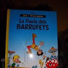 Cómics: JAN I TRENCAPINS LA FLAUTA DEL BARRUFETS NORMA PITUFOS JANO Y PIRLUIT PERFECTO ESTADO NUEVO. Lote 43043726