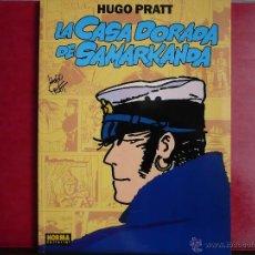 Cómics: CORTO MALTÉS: LA CASA DORADA DE SAMARKANDA. PRATT. NORMA EDITORIAL 1992, 1ª EDICIÓN.. Lote 43111703