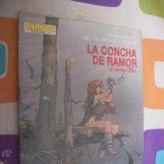 Cómics: CIMOC EXTRA COLOR 17 LA BUSQUEDA DEL PAJARO DEL TIEMPO LA CONCHA DE RAMOR. Lote 43175084