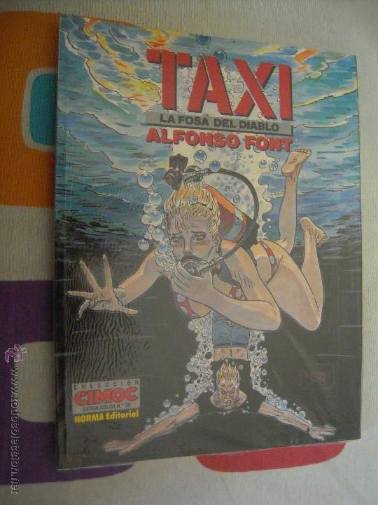 CIMOC EXTRA COLOR 78 TAXI LA FOSA DEL DIABLO (Tebeos y Comics - Norma - Cimoc)
