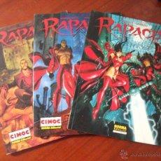 Cómics: RAPACES 1 2 Y 3 NORMA EDITORIAL. Lote 43405851