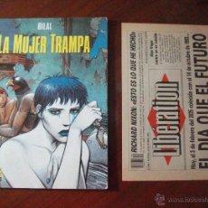 Cómics: LA MUJER TRAMPA CIMOC NORMA EDITORIAL. Lote 57161691