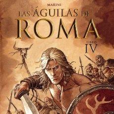 Cómics: CÓMICS. LAS ÁGUILAS DE ROMA 4 - ENRICO MARINI (CARTONÉ). Lote 176366194