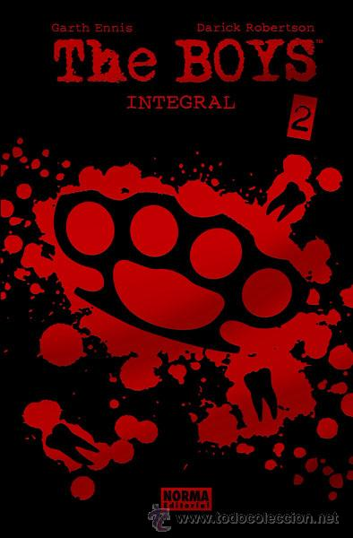 CÓMICS. THE BOYS INTEGRAL 2 - GARTH ENNIS/DARICK ROBERTSON (CARTONÉ) (Tebeos y Comics - Norma - Comic USA)