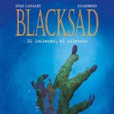 Cómics: CÓMICS. BLACKSAD 04: EL INFIERNO, EL SILENCIO - JUANJO GUARNIDO (CARTONÉ). Lote 204698712
