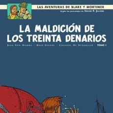 Cómics: CÓMICS. BLAKE Y MORTIMER 19. LA MALDICIÓN DE LOS TREINTA DENARIOS (TOMO 1) - JEAN VAN HAMME, RENE ST. Lote 210976590