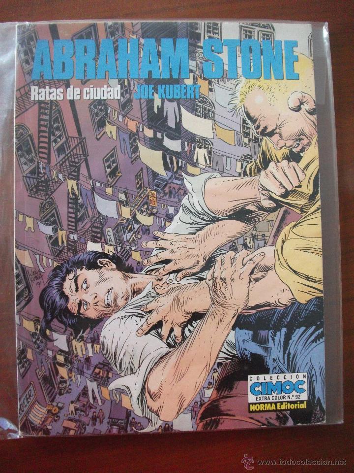 ABRAHAM STONE RATAS DE CIUDAD CIMOC NORMA (Tebeos y Comics - Norma - Otros)