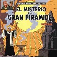 Cómics: CÓMICS. BLAKE Y MORTIMER 02. EL MISTERIO DE LA GRAN PIRÁMIDE 2 - EDGAR P. JACOBS (CARTONÉ). Lote 241526220