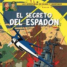 Cómics: CÓMICS. BLAKE Y MORTIMER 11. EL SECRETO DEL ESPADÓN 3 - EDGAR P. JACOBS (CARTONÉ). Lote 130166812