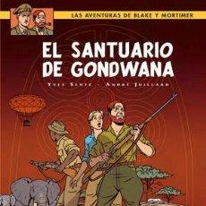 Cómics: CÓMICS. BLAKE Y MORTIMER 18. EL SANTUARIO DE GONDWANA - YVES SENTE/ANDRÉ JUILLARD (CARTONÉ). Lote 210976604