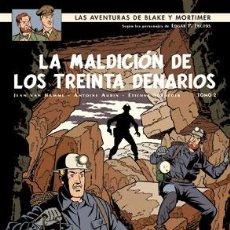 Cómics: CÓMICS. BLAKE Y MORTIMER 20. LA MALDICIÓN DE LOS TREINTA DENARIOS (TOMO 2) - JEAN VAN HAMME/ANTOINE. Lote 210976577