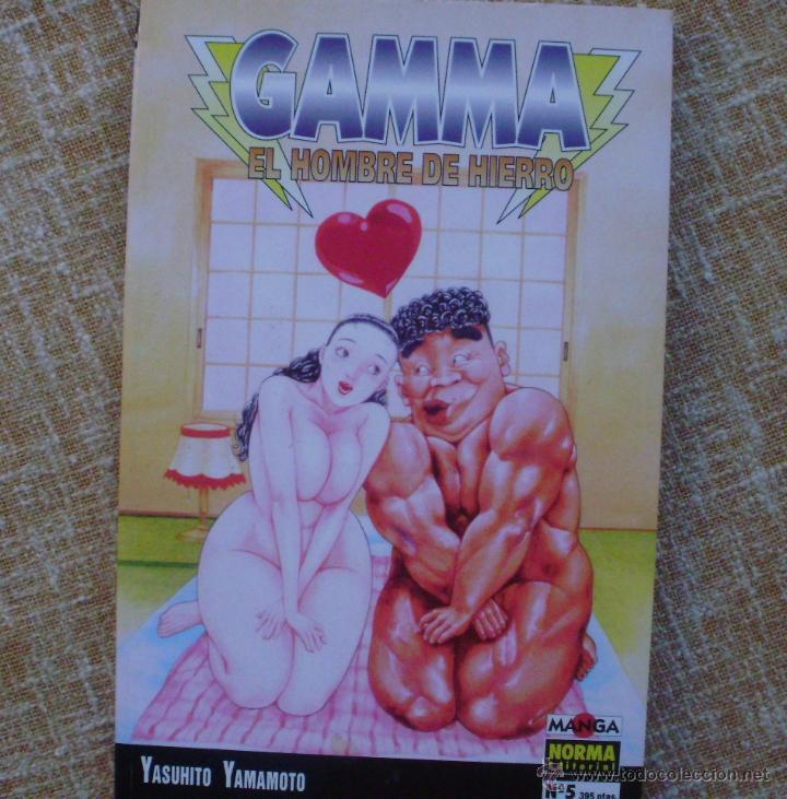 Cómics: Gamma: El Hombre de Hierro Comic, números 4 y 5, Norma, Manga, Yasuhito Yamamoto, año 1995 - Foto 3 - 43684079