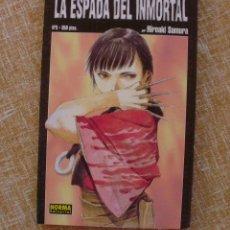 Cómics: LA ESPADA DEL INMORTAL COMIC, NÚMERO 3, NORMA EDITORIAL, AUTOR HIROAKI SAMURA, AÑO 1997. Lote 43775751