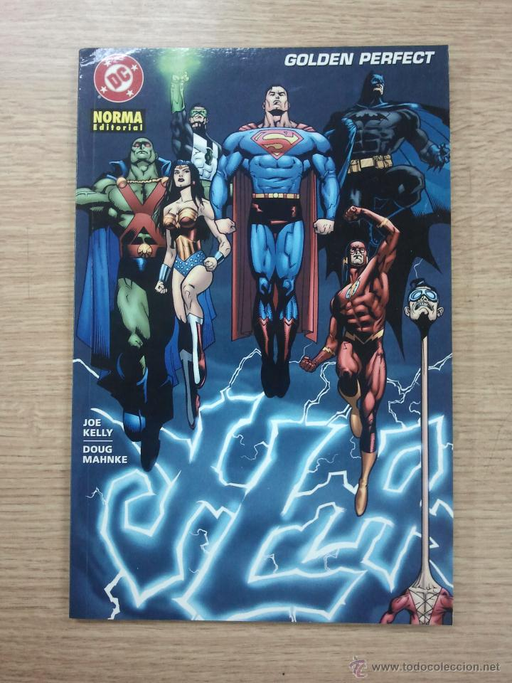 JLA GOLDEN PERFECT (Tebeos y Comics - Norma - Comic USA)