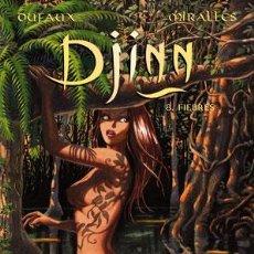 Cómics: CÓMICS. DJINN 08. FIEBRES - JEAN DUFAUX/ANA MIRALLES. Lote 102343218