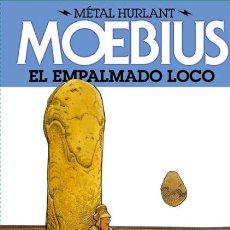 Cómics: CÓMICS. EL EMPALMADO LOCO - MOEBIUS (CARTONÉ). Lote 180855778