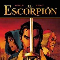Cómics: CÓMICS. EL ESCORPIÓN 01: LA MARCA DEL DIABLO - DESBERG/ENRICO MARINI (CARTONÉ). Lote 225288368